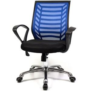 【aaronation】愛倫國度-爵士雙扶手系列電腦椅~三色可選i-R藍