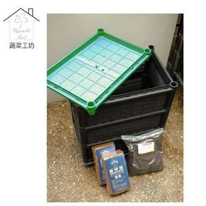 多功能三層廚餘桶(廚餘堆肥桶.三層加高連通設計)