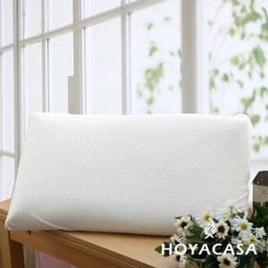 HOYACASA平面天然乳膠枕-大(二入)