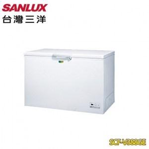 【SANLUX台灣三洋】 388L 變頻上掀式冷凍櫃SCF-V388G