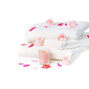【花季】典雅風情-純白五星飯店級厚織大浴巾x8件組(133x68cm)
