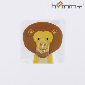 HOMMY黏貼式掛勾-獅子(單入)