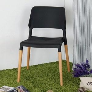 Homelike 韋勃北歐風餐椅(神秘黑)