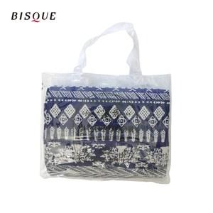 【日本BISQUE】可水洗野餐雙面軟墊-140x140cm(3-4人)民族藍