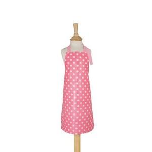 英國dexam 兒童圍裙(粉紅白點)