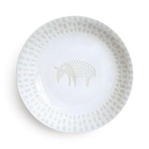 Natural69 波佐見燒 ZUPA White系列 甜點盤  15cm馬來貘