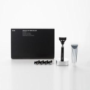 【bläk】blak經典刮鬍刀禮盒套組2.0版(極致黑)