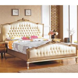 H&D羅登6尺法式香檳色雙人床