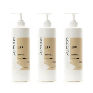 (組)AVESSA 小蒼蘭保濕香氛洗髮精1000ml x1+沐浴露1000ml x2