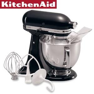 【KitchenAid】桌上型攪拌機(松露黑)
