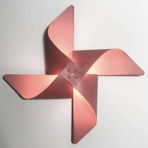 YPHOME 風車造型壁燈(粉色) Y881842H