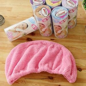 【米夢家居】水乾乾SUMEASY開纖吸水紗-快乾護髮浴帽(粉)一入