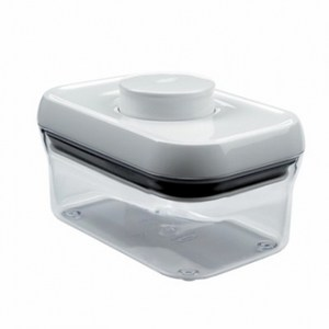 OXO POP保鮮收納盒(白色長方型 500ml)