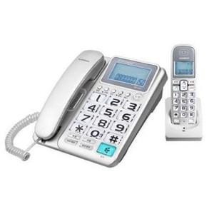 WONDER 旺德2.4G超大字鍵數位子母無線電話 WT-D03 (紅色)