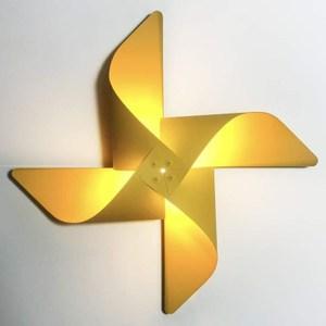 YPHOME 風車造型壁燈(黃色) Y881843H