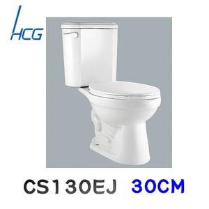 【HCG 和成】兩件式省水馬桶(CS130EJ)-白色 管距30CM