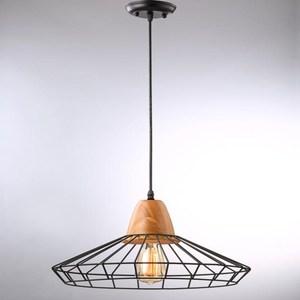 HONEY COMB  工業風原木單吊燈TA4011D