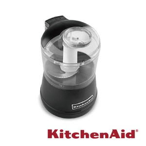 KitchenAid迷你食物調理機 時尚黑