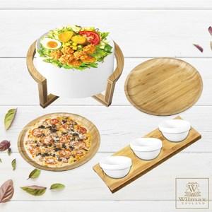 【英國 WILMAX】輕食沙拉碗盤超值組合附醬料點心盤(小)