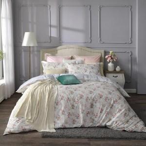 【BBL Premium】精靈花園100%精梳棉.印花雙人兩用被床包組