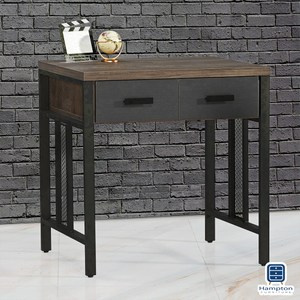 【Hampton 漢汀堡】特雷潔灰橡2.6尺書桌