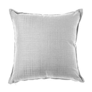 格紋編織抱枕45x45cm 灰