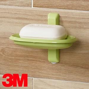 3M 無痕浴室收納系列 肥皂架 蘋果綠限量款