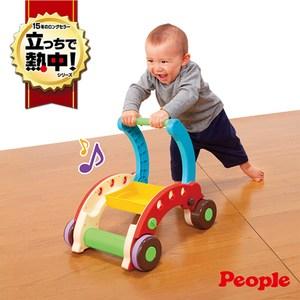 日本 People 折疊式簡易學步車