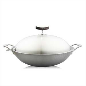 Linox中式不銹鋼炒鍋40cm