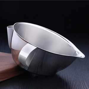 PUSH!廚房用品304不銹鋼濾油器隔油碗油水分離器特大號D135-1特大號