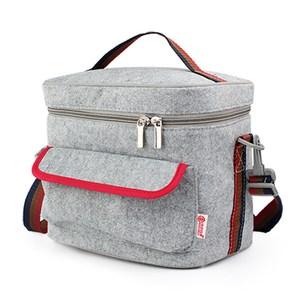 【PUSH!餐具用品】保溫便當盒提袋(超大號1入)E92