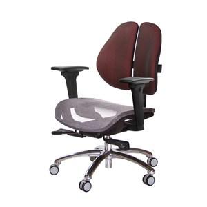 GXG 低雙背網座工學椅(鋁腳/3D升降扶手)TW-2805 LU9#訂購備註顏色