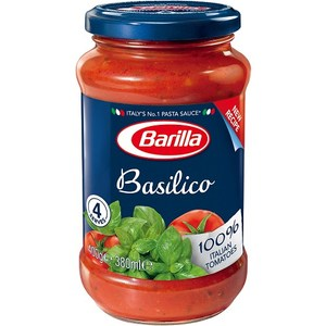 義大利百味來Barilla蘿勒番茄義大利麵醬400G