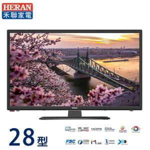 HERAN禾聯28型低藍光LED液晶顯示器+視訊盒HF-28DA1H