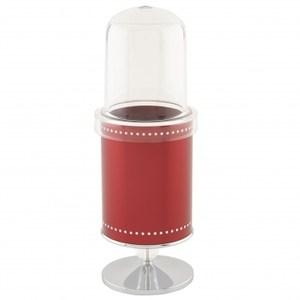 水鑽叉匙陳列架附蓋 紅色