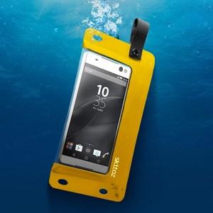 Skitoz 鋼鐵極限防水袋 6吋以下手機使用 台灣製造 黃色