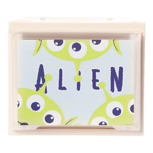 HOLA 迪士尼系列 Toy Story 單層堆疊抽屜櫃 寬27cm 三眼怪 Aliens