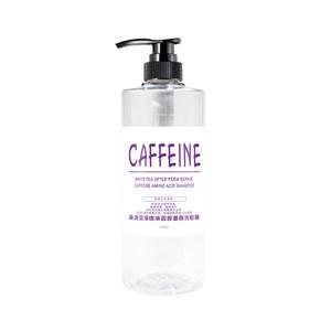 染燙受損咖啡因胺基酸洗髮精 經典白茶