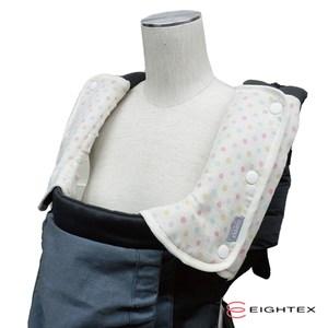 日本製Eightex L型背巾防污套2入 圓點象牙