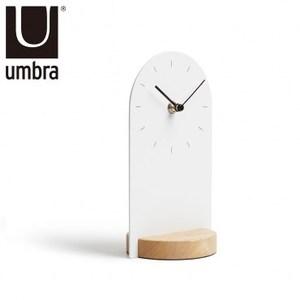UMBRA 簡約白時尚桌鐘