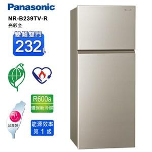 國際牌 232L一級變頻雙門電冰箱 NR-B239TV-R~含拆箱定位