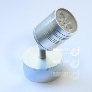 【光的魔法師 】LED明裝投射燈座 展場LED燈具 背景牆燈 大底座黃光