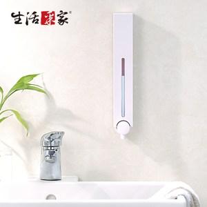 【生活采家】幸福手感經典白500ml單孔手壓式給皂機(#47001)
