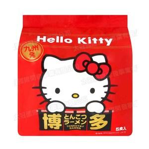 日本九州丸一Hello Kitty博多豚骨拉麵5入
