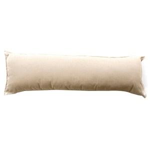 浮紋編織長抱枕 40x120cm 香檳米