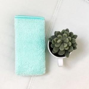 Lovel 3M頂極輕柔棉超細纖維抗菌方巾-Limpet shell 貝殼綠