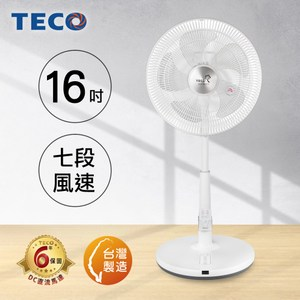 TECO東元 16吋DC微電腦遙控立扇 XA1673BRD