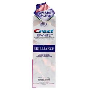 美國 Crest 3D White 專業鑽白牙膏 116g 鑽亮炫白