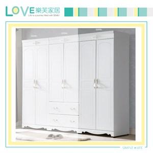 【LOVE樂芙】瓦溫妮莎歐風2.7尺雙吊衣櫥