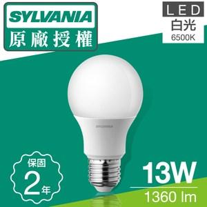 喜萬年SYLVANIA 13W LED 超亮廣角燈泡 6+2入組白光8入